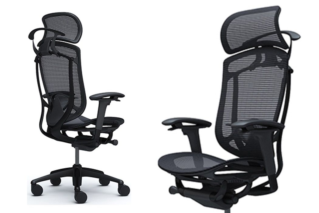 Okamura Contessa Seconda Black Office Chair