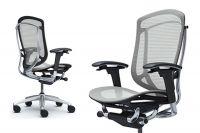 Okamura Contessa Seconda Light grey Full Mesh Office Chair