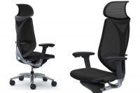 OKAMURA SABRINA Smart Black Mesh Chair