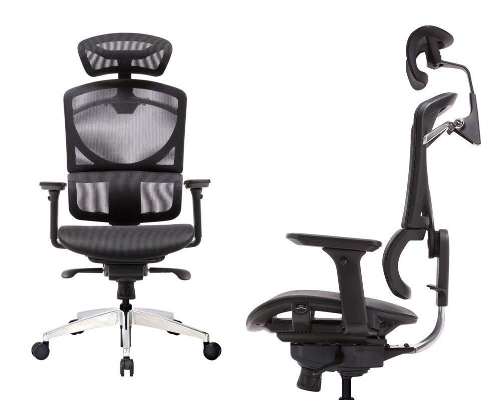 ERREVO® ZERO Full Black Mesh Computer Office Chair