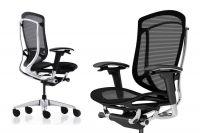 Židle CONTESSA 2 Leštěný rám Sedák černá Síťovina