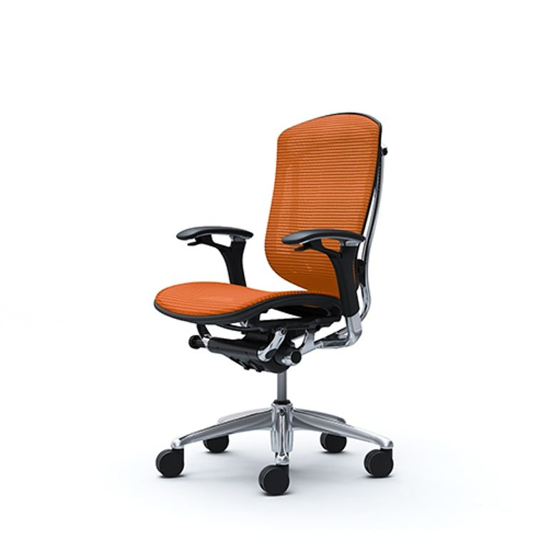 Кресло CONTESSA Сетка Оранжевая
