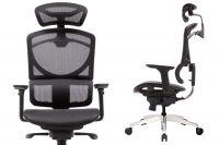 ZERO Ergonomic Full Black Mesh Office Chair