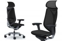 OKAMURA SABRINA Smart Black Mesh Chair
