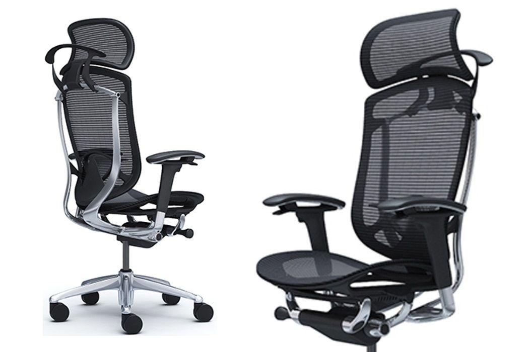 Nejprodávanější Kancelářské židle OKAMURA CONTESSA SECONDA v Celosíťovaném Provedení