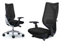 Židle OKAMURA SABRINA Standard Černý plast Black