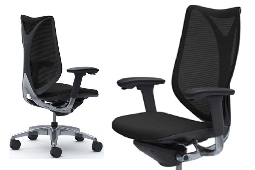 Židle OKAMURA SABRINA SMART Černý plast