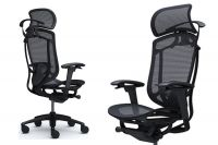 Židle OKAMURA CONTESSA II v Celočerném Provedení