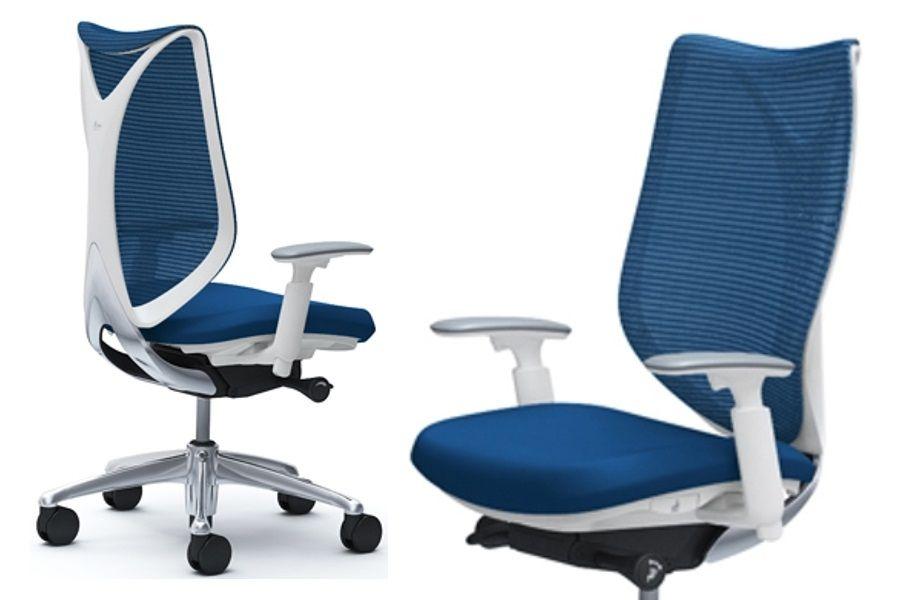 Židle OKAMURA SABRINA STANDARD Bílý Plast BLUE